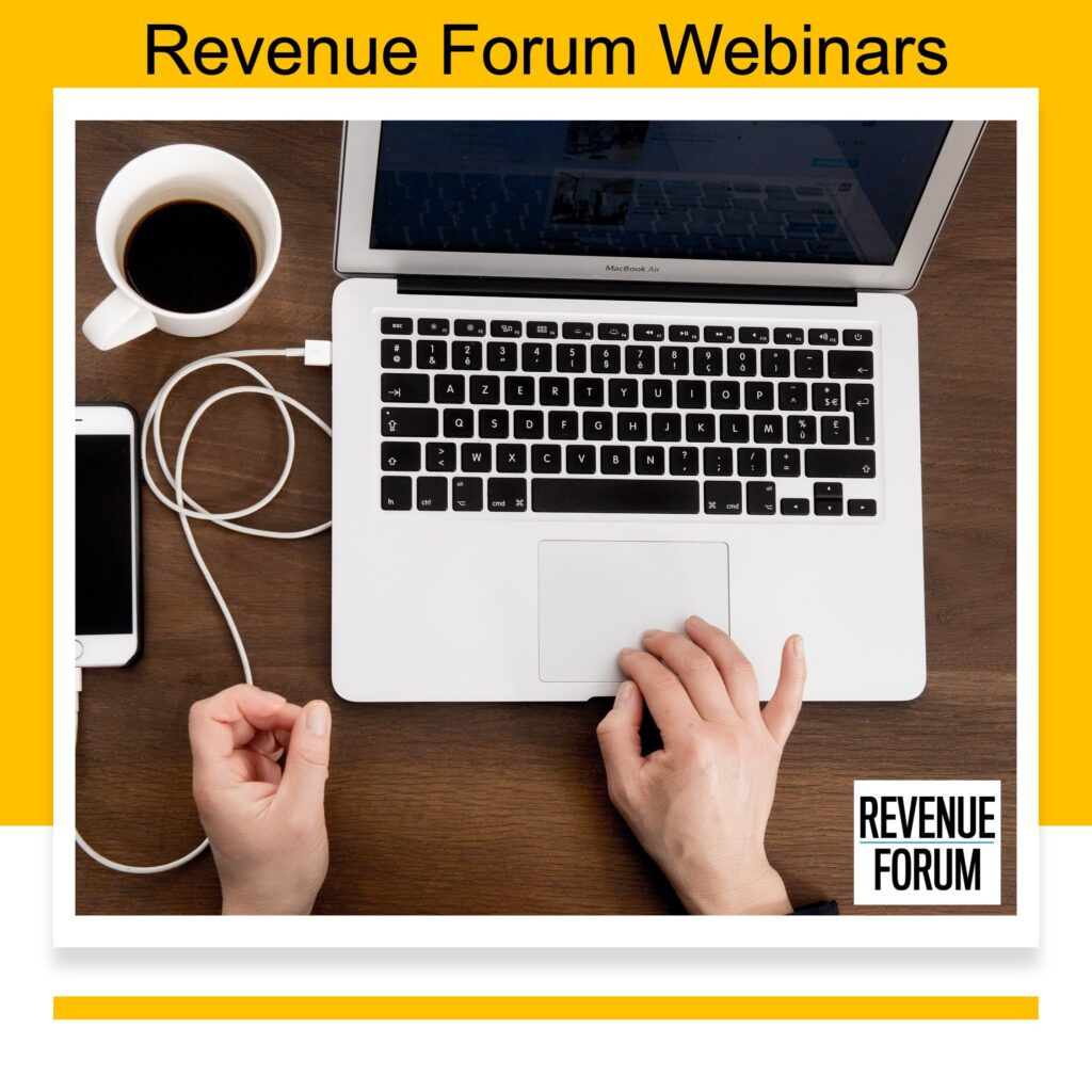Revenue Forum Webinar